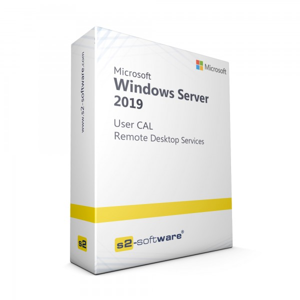 Remote Desktop Services 2019 User CAL