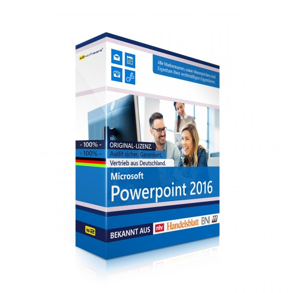 MS Office PowerPoint 2016