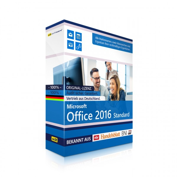 MS Office 2016 Standard für Mac