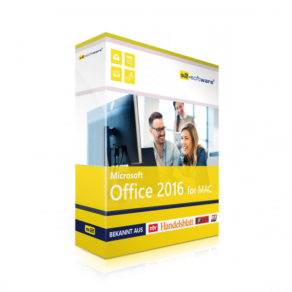 Office 2016 Standard für Mac